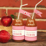 apple orchard bottle wraps