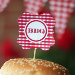 bbq burger topper