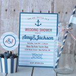 nautical shower collection