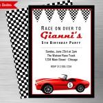 race car listing