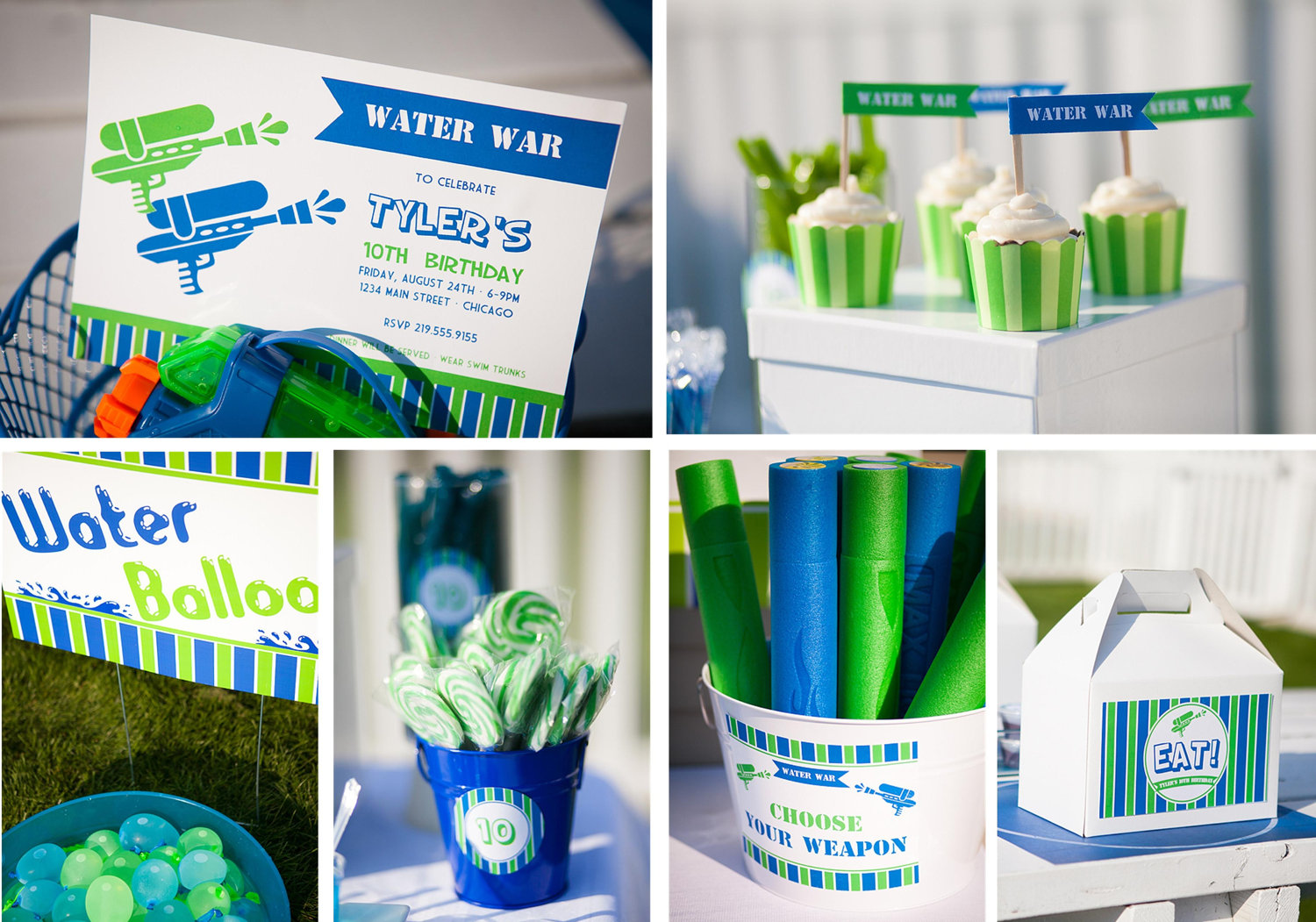 Water War Party Set – With Color Change