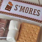smores bag topper new