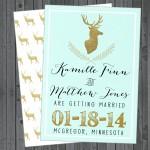 deer save date