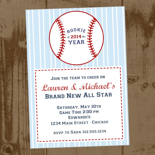 baseball baby shower invitations america 39 s best lifechangers