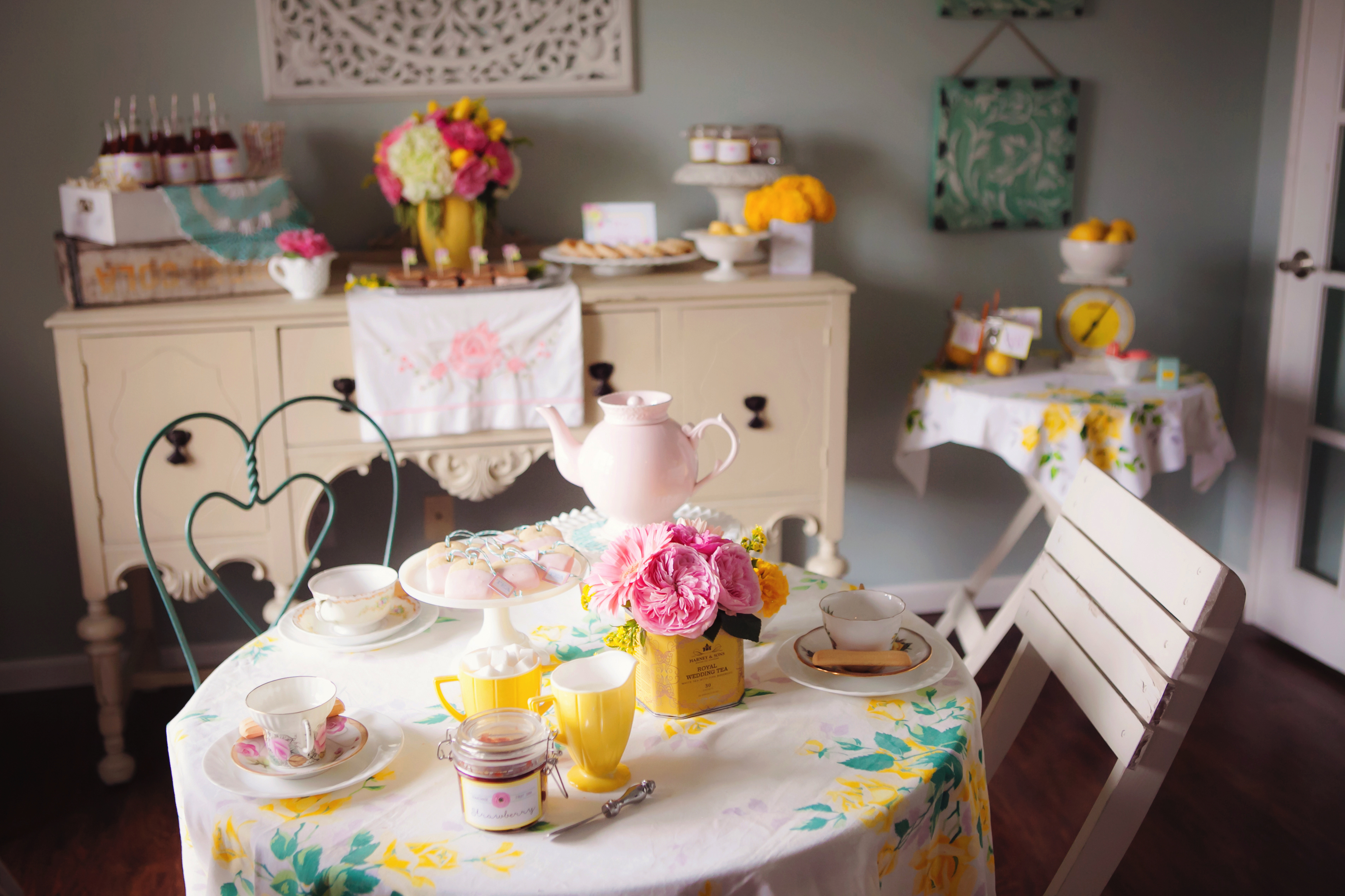 Vintage Tea Party Ideas as seen in Yum for Kids magazine | The ...