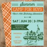 boys camp orange