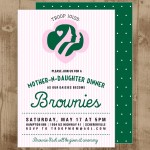 girl scout invite
