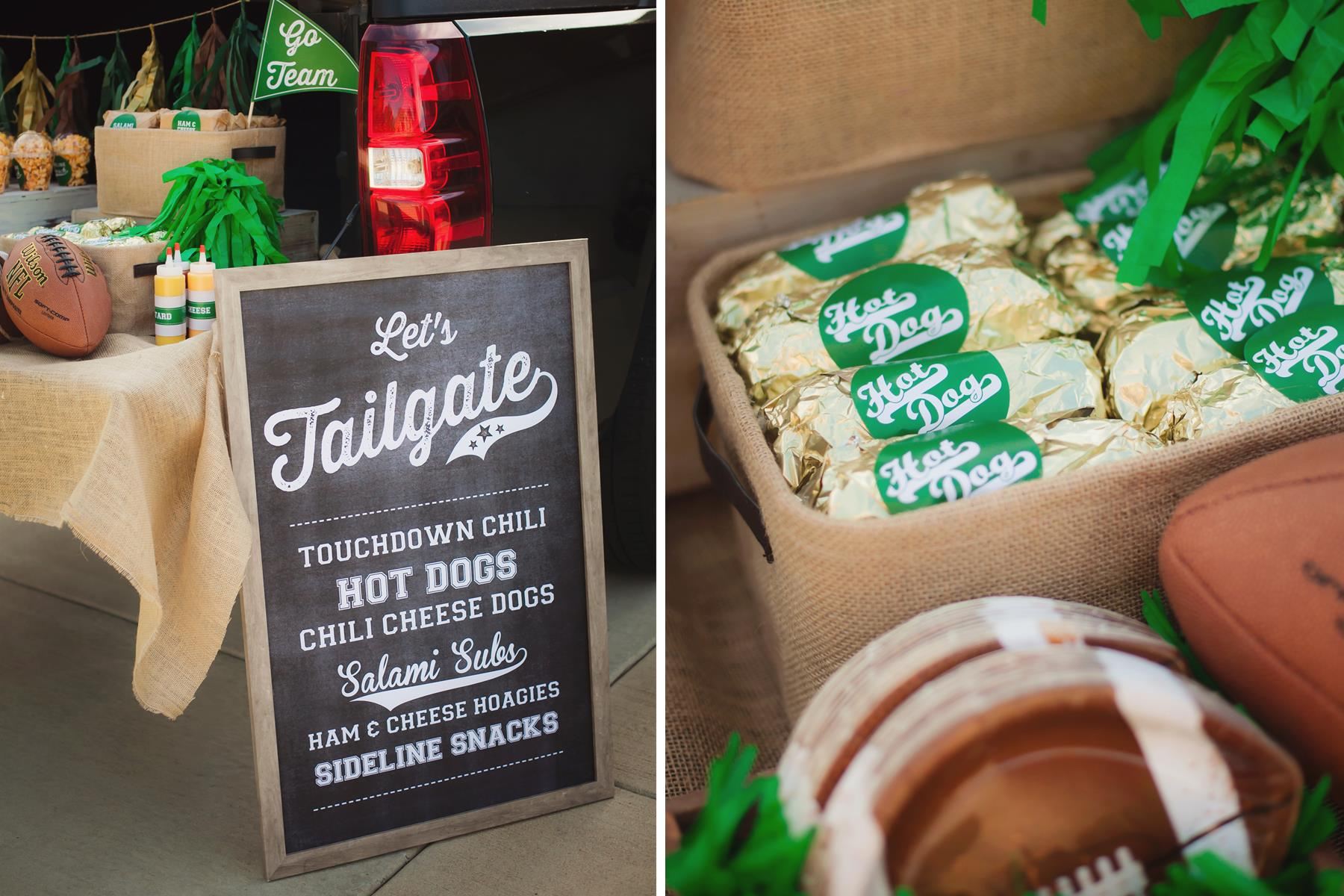 It S Tailgate Time Football Party Ideas Andrew S 11th