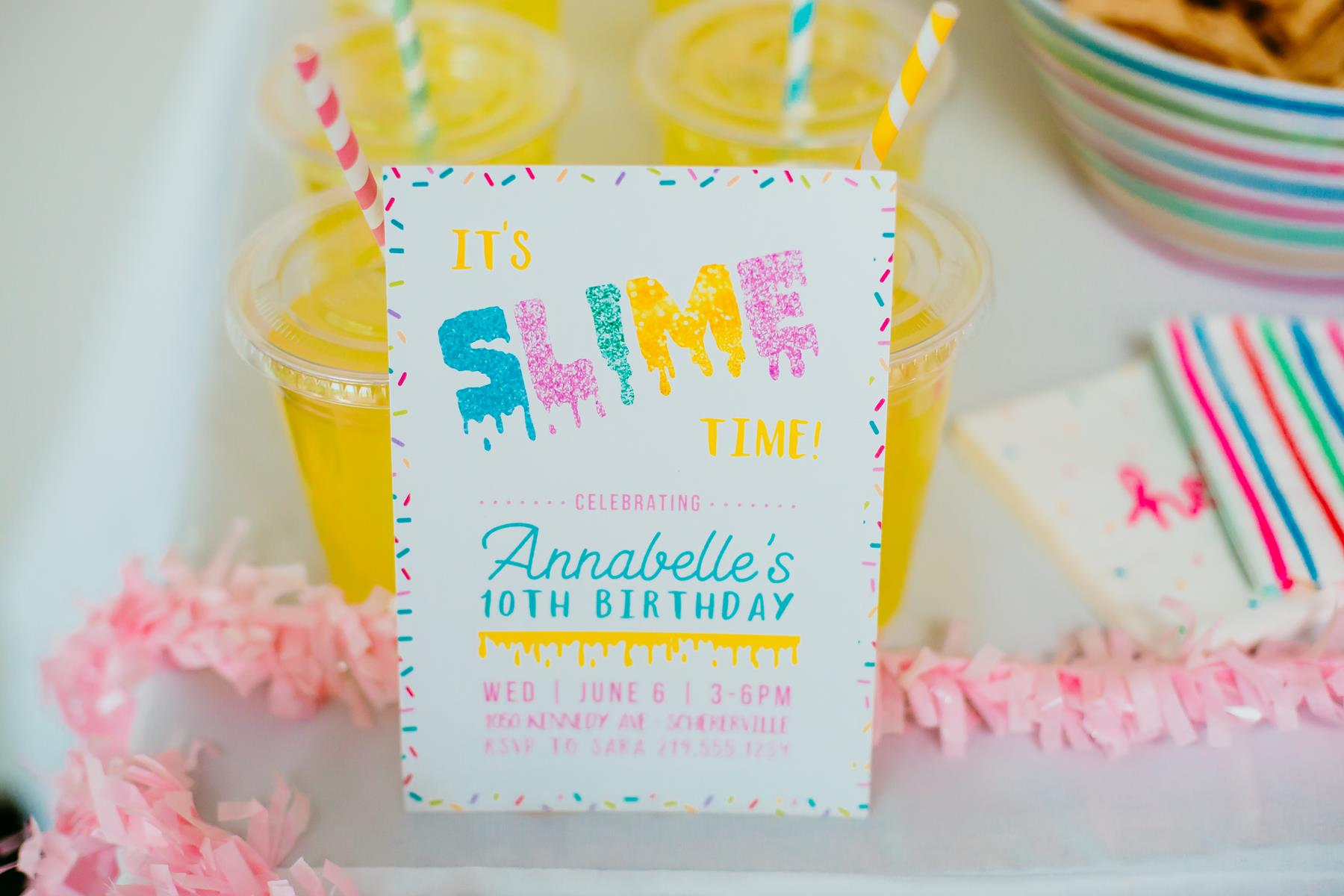 How to make slime the homespun hostess the dessert table was kept super simple with a slime inspired cake made by my talented sister little miss sweet tooth and sprinkle donuts ccuart Images